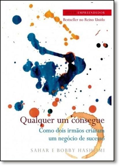 Qualquer um Consegue, livro de Bobby Hashemi   Sahar Hashemi