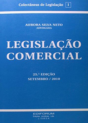 Legislação Comercial, livro de Aurora Silva Neto