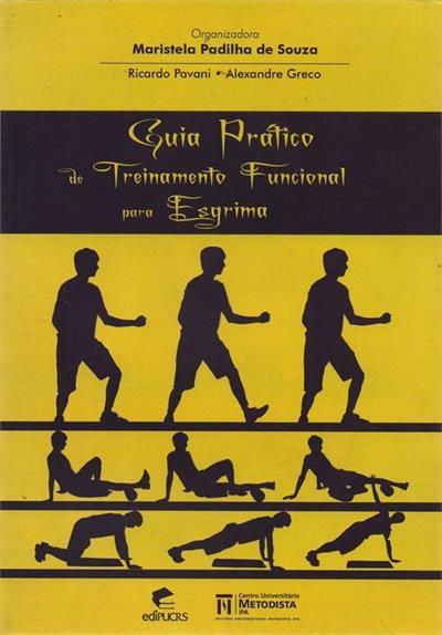 Guia prático de treinamento funcional para esgrima, livro de Ricardo Pavani