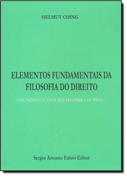 Elementos Fundamentais Da Filosofia Do Direito, livro de COING