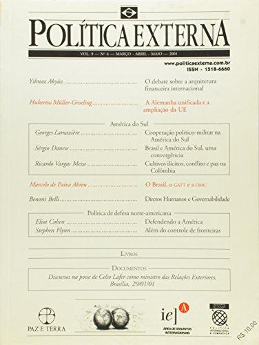 Revista Política Externa. N.04 - Volume 9, livro de Vários Autores